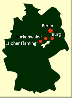 Rad Sportreise Tour Brandennburg