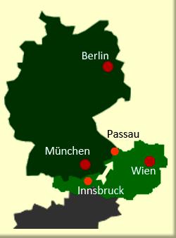 Inntalradweg Karte